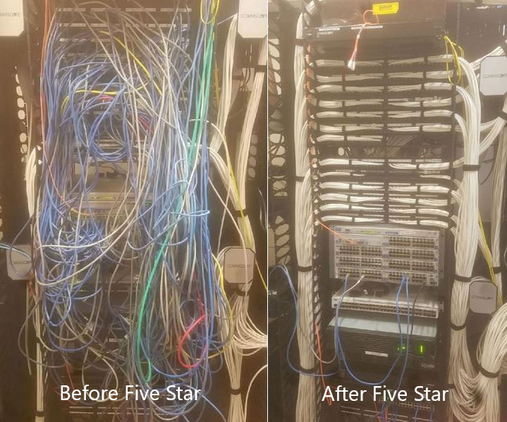 Before/After Cabling